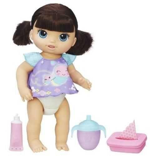 e89f271bbe BONECA BABY ALIVE FRALDINHA MAGICA MORENA B6052 na Papelaria MC Papéis